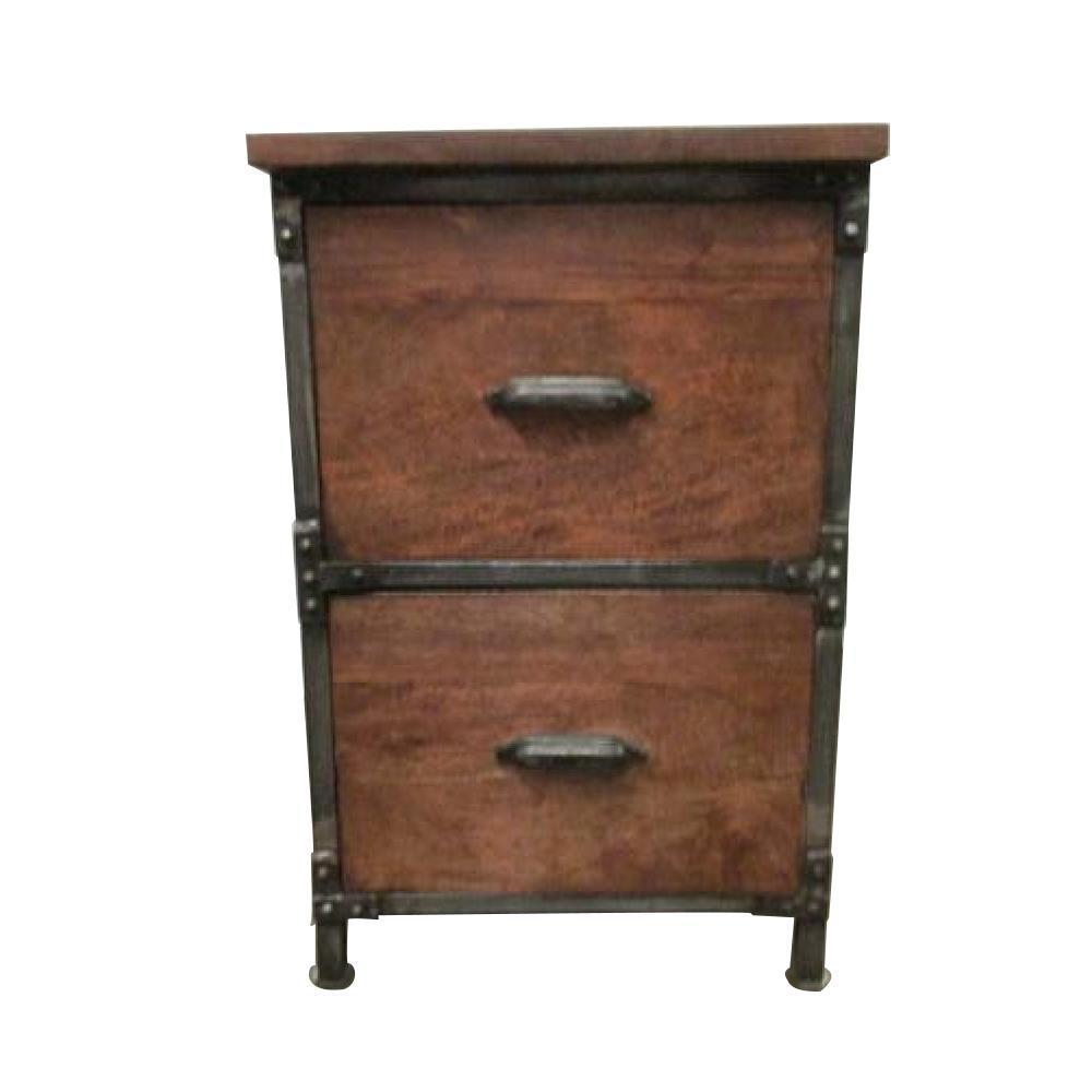 Lafayette Medium Brown File Cabinet