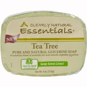 Clearly Natural Essentials 4 oz  Glycerin Bar Soap