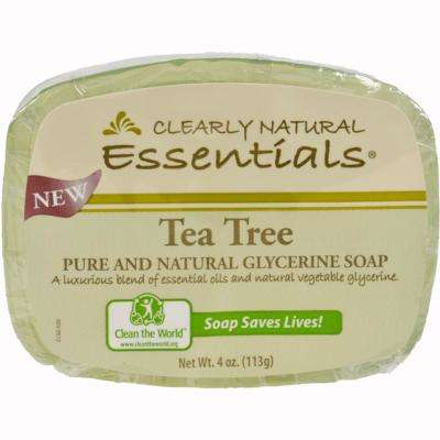4 oz. Glycerin Bar Soap Tea Tree (Pack of 12)