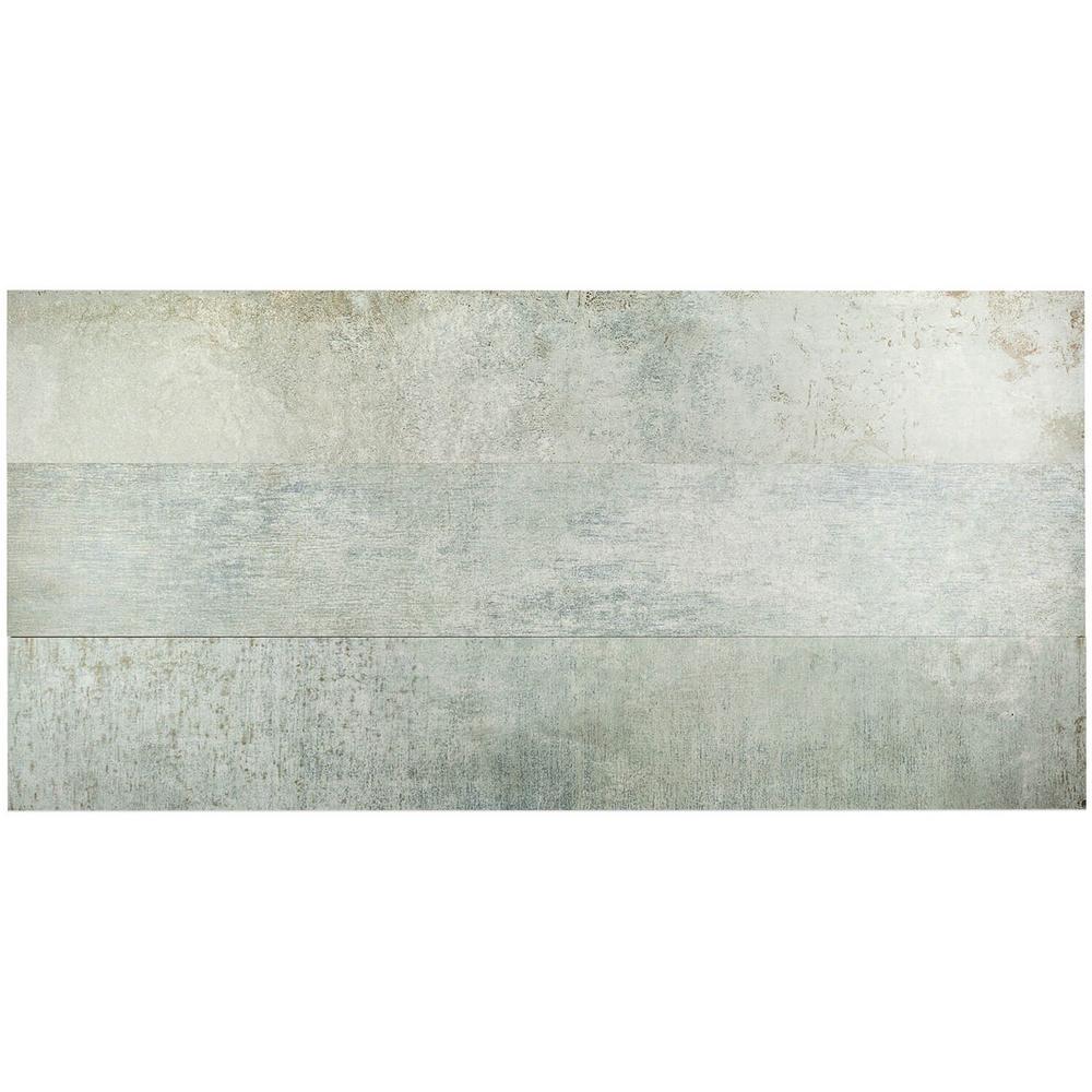 Casper Moss Green 8 in. x 48 in. x 9.5mm Matte Porcelain Tile (3 pieces / 7.63 sq. ft. / box)