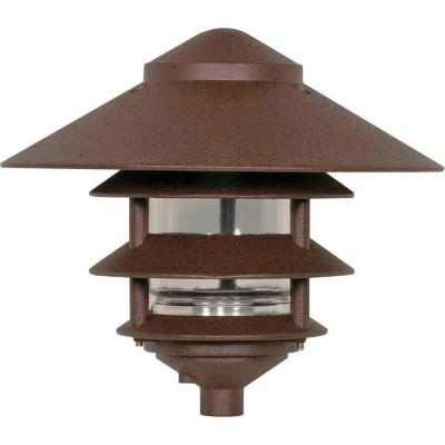 Tony 60-Watt Old Bronze Outdoor Landscape Path Light