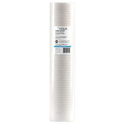 Replacement High-performance sediment dirt and rust filter cartridges 4.5 in. x 20 in.