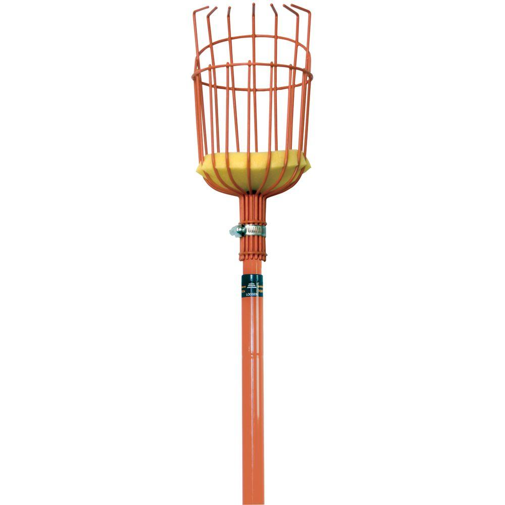 True Temper 10 ft. Aluminum Handle Fruit Picker