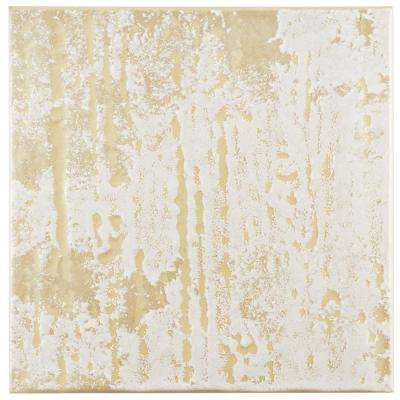 Provence Blanco 7-3/4 in. x 7-3/4 in. Ceramic Floor and Wall Tile (11.5 sq. ft. / case)