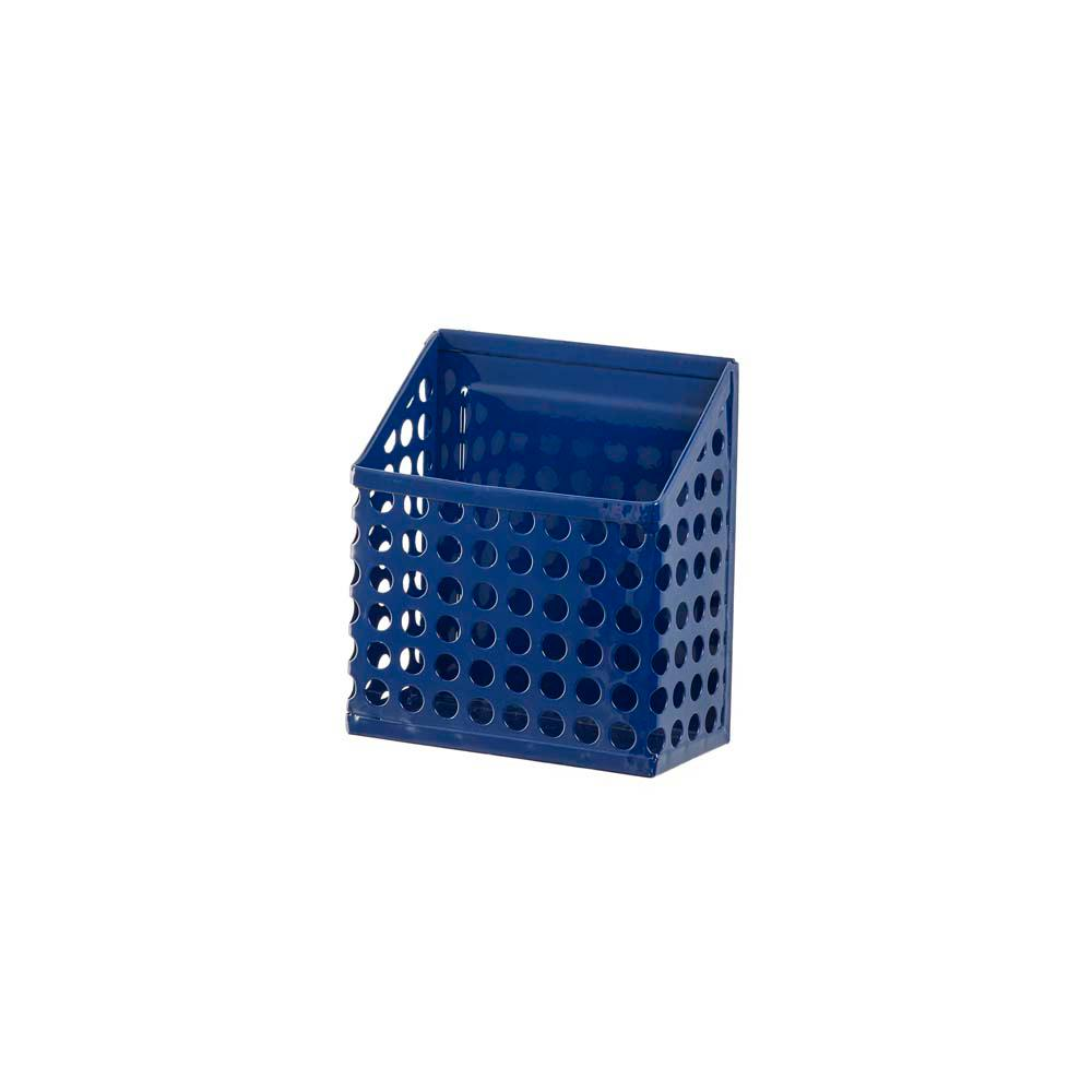Edison Magnetic Pencil Bin, Navy