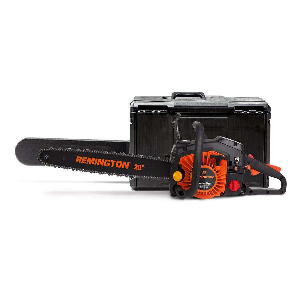 Remington RM5520R 20 in. 55cc 2-Cycle Gas Chainsaw with Carry Case