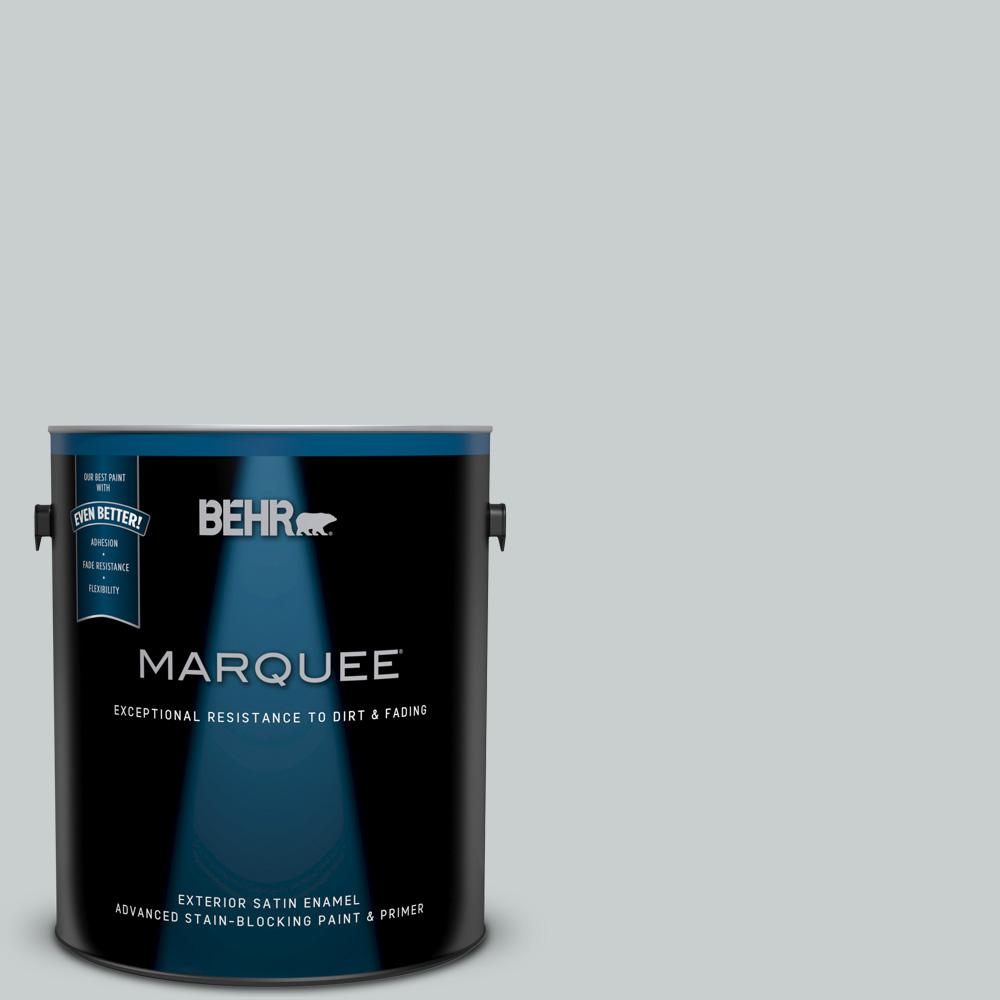 Great BEHR MARQUEE 1 Gal. #720E 2 Light French Gray Satin Enamel Exterior Ideas