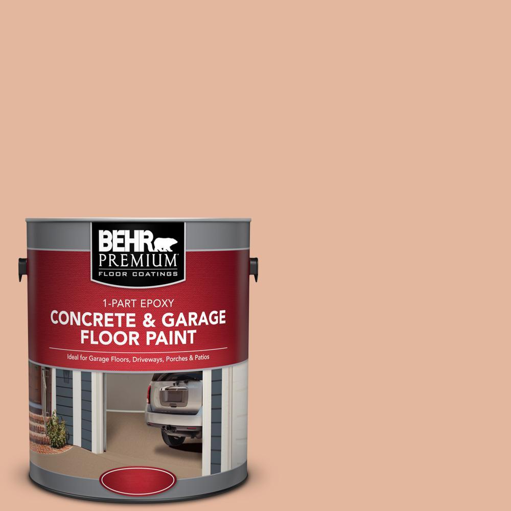 1 gal. #PFC-06 Georgia Peach 1-Part Epoxy Concrete and Garage Floor Paint