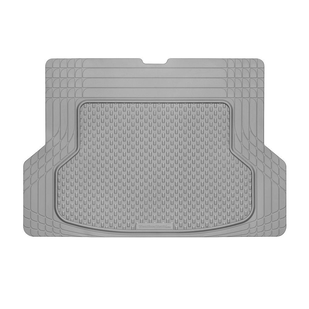 Grey 53 in. x 36 in. Rubber Cargo Mat