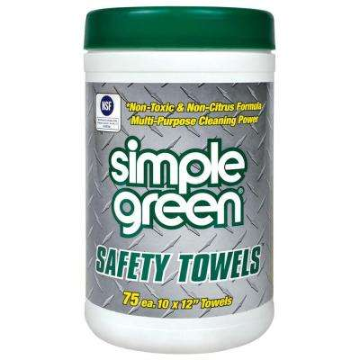 Safety Towels (75-Count) (Case of 6)