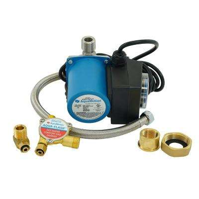 Aqua-Flash Stainless Steel Hot Water Recirculating Pump with Built in Check Valve