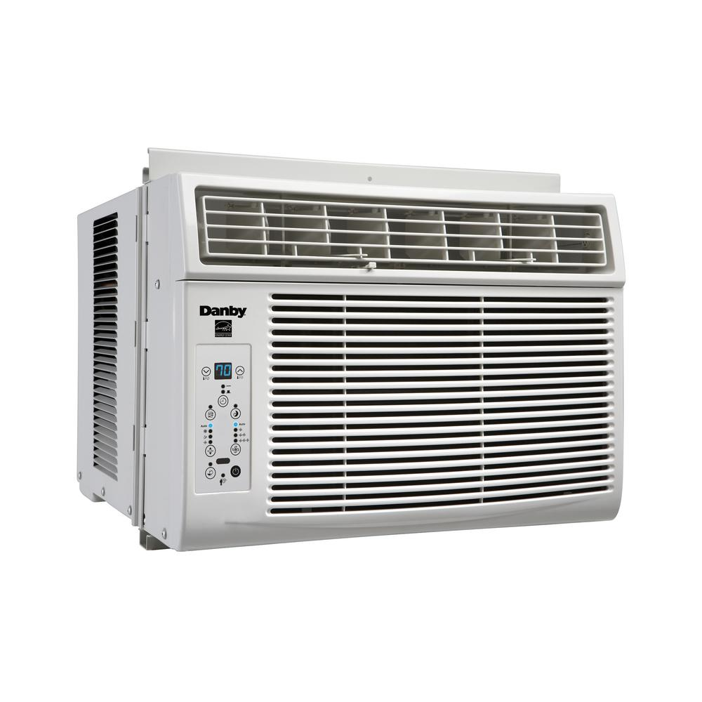 6000 BTU Window Air Conditioner with Remote in White