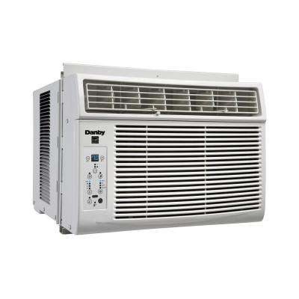 6000 BTU Window Air Conditioner with Remote in White