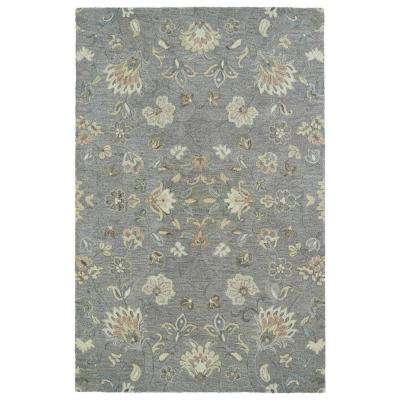 Helena Grey 12 ft. x 15 ft. Area Rug