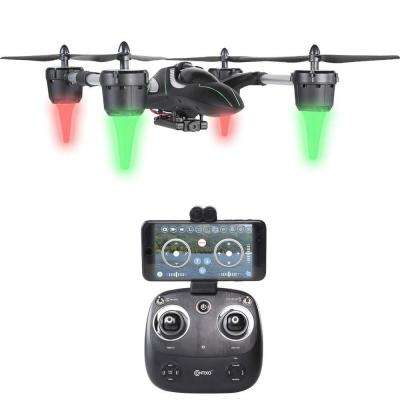 F7 RC Quadcopter Drone 2.4Ghz 6-Axis Gyro 4 Channels 720p HD Camera, FPV Live Feed, Mobile App Control, Headless Mode
