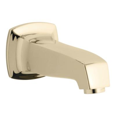 Margaux 6.813 in. Wall-Mount Bath Spout in Vibrant French Gold