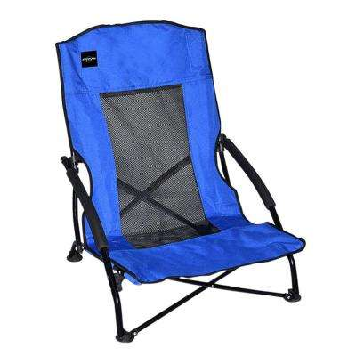 Blue Patio Compact Chair