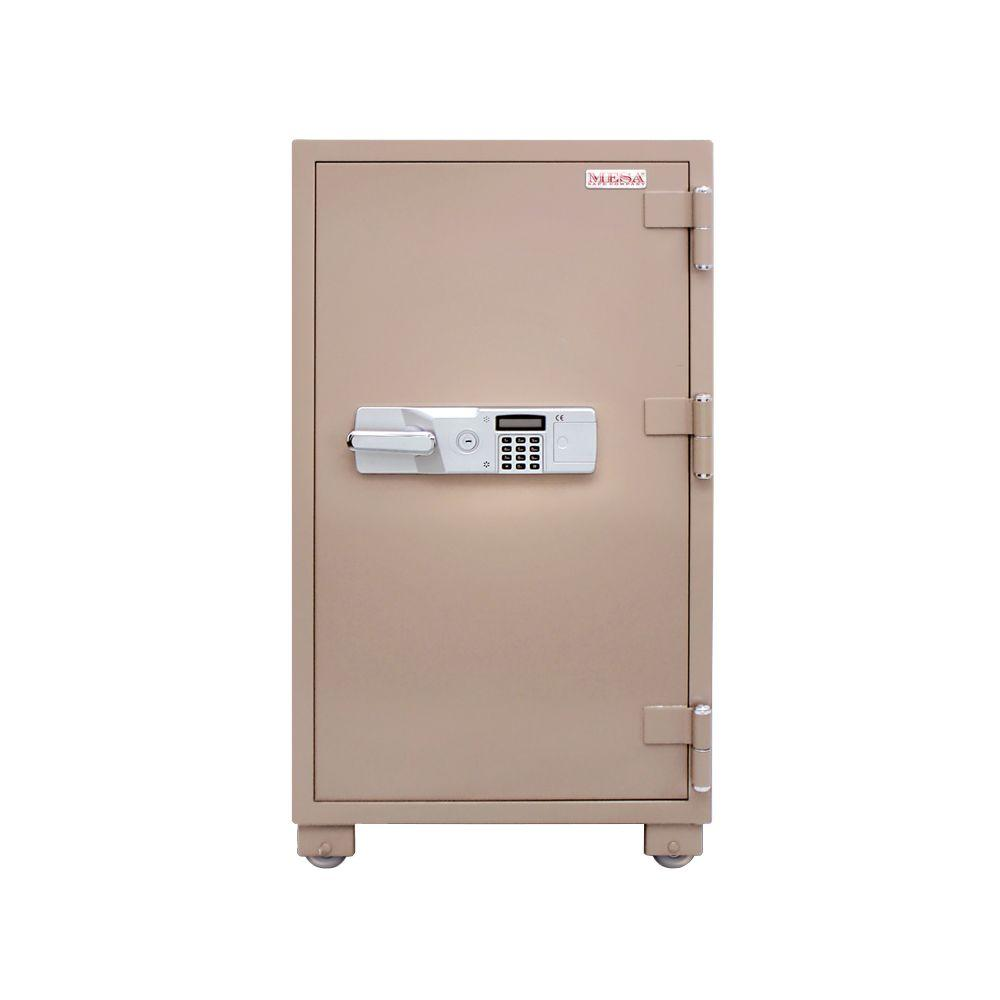 MESA 3.6 cu. ft. All Steel 2 Hour Fire Safe with Electronic Lock, Tan
