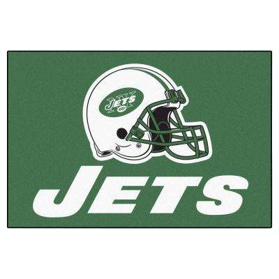 New York Jets 19 in. x 30 in. Accent Rug