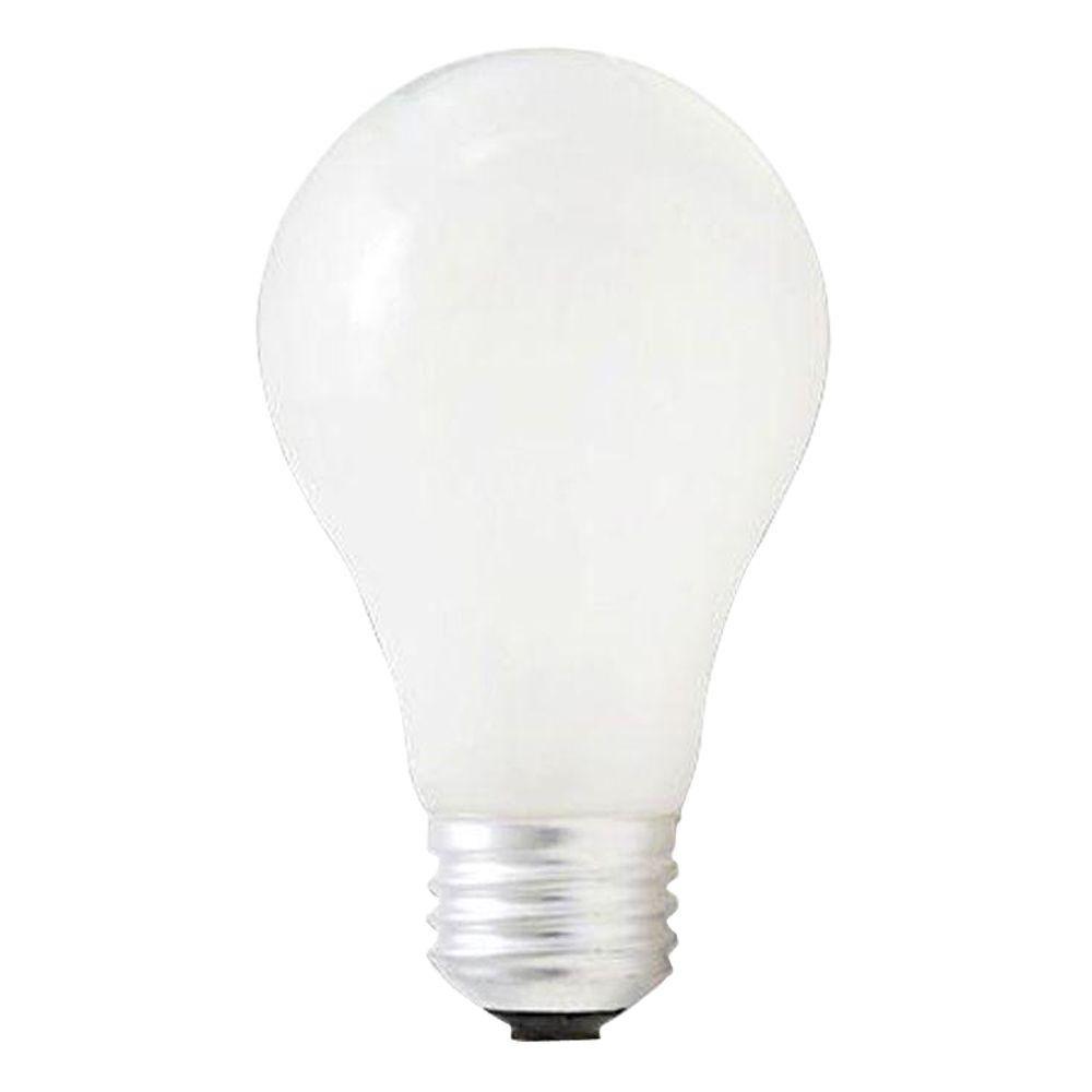 Bulbrite 53-Watt Halogen A19 Light Bulb (10-Pack)