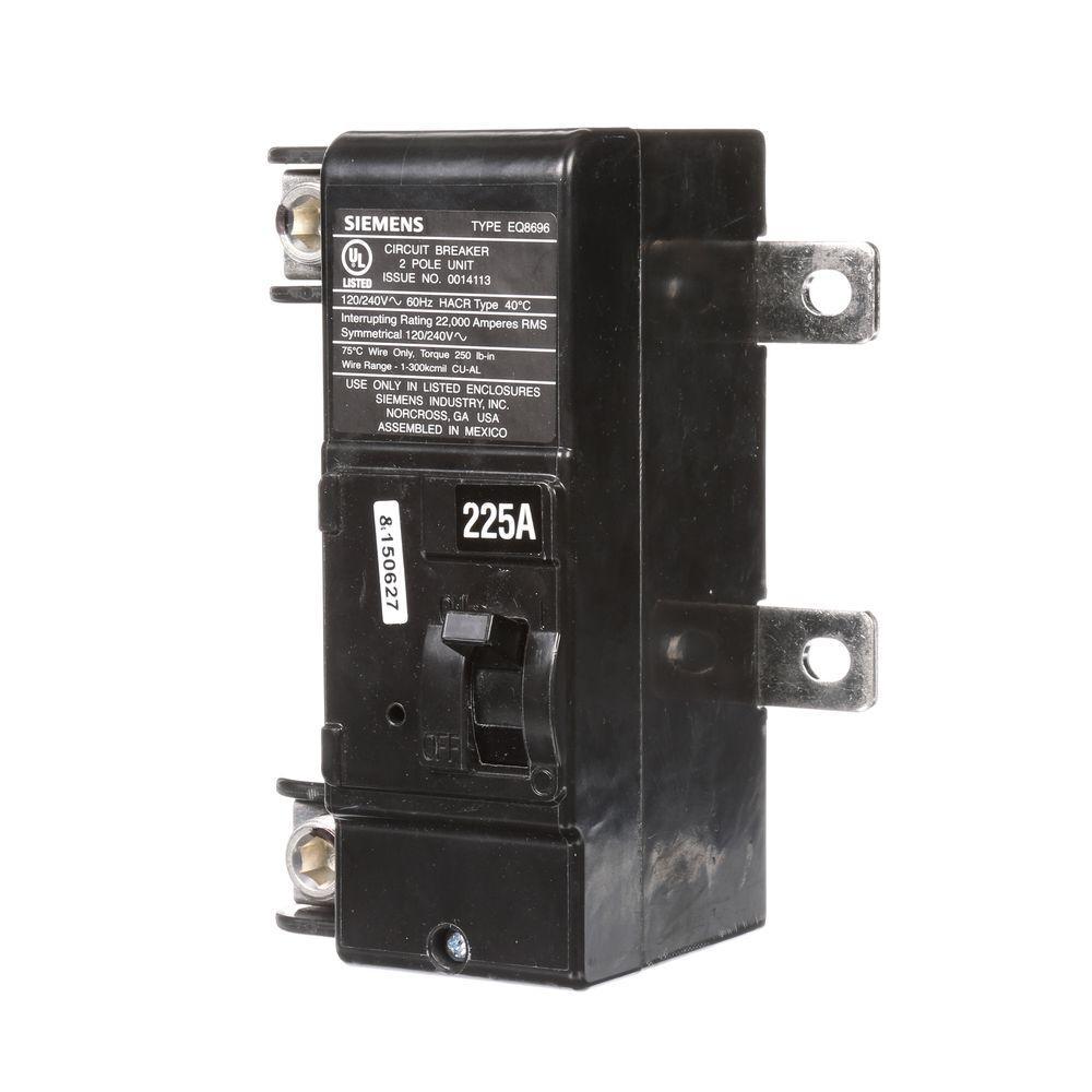 225 Amp Main Breaker Conversion Kit