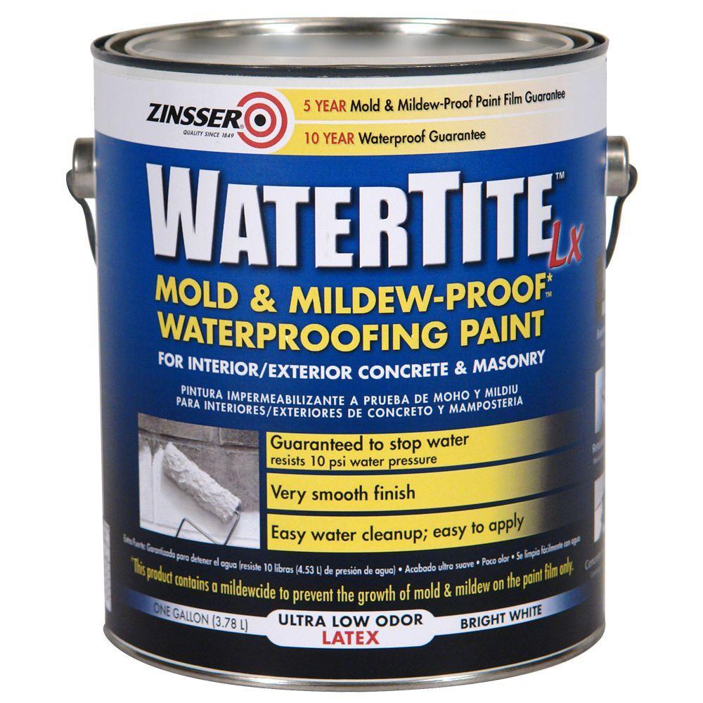 Zinsser Watertite 1-Gal. Latex Concrete and Masonary Waterproofer-DISCONTINUED