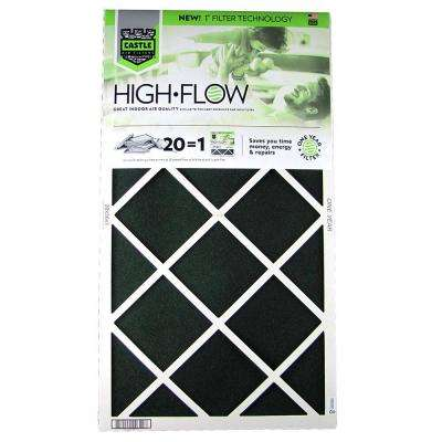 20 in. x 36 in. HVAC Air Filter - FRP 8 1 Year High Flow Filter