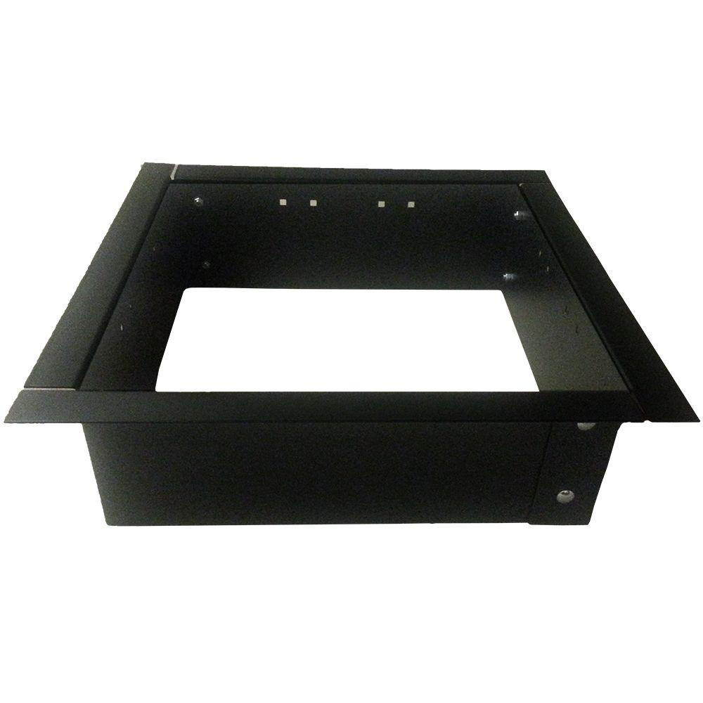 24 In Square Fire Pit Insert 417 Rjt Iq 23 8 The Home Depot