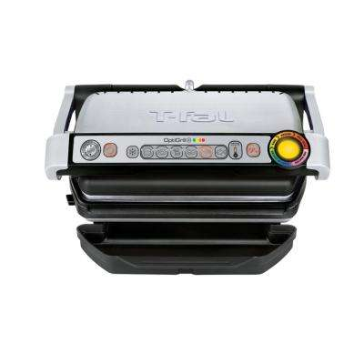 Optigrill 93 sq. in. Black Stainless Steel Non-Stick Indoor Grill