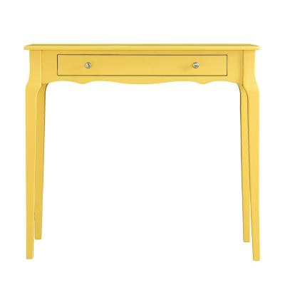 Banana Yellow Console Table