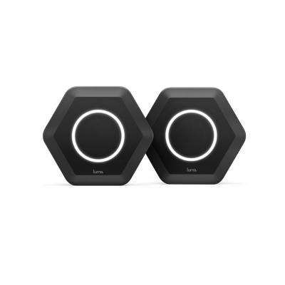 Intelligent Home Wi-Fi System, Black (2-Pack)