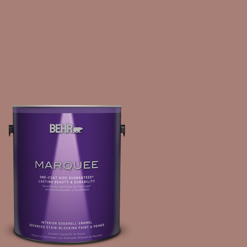 BEHR MARQUEE 1 gal. #MQ1-52 Fresh Cedar One-Coat Hide Eggshell Enamel Interior Paint