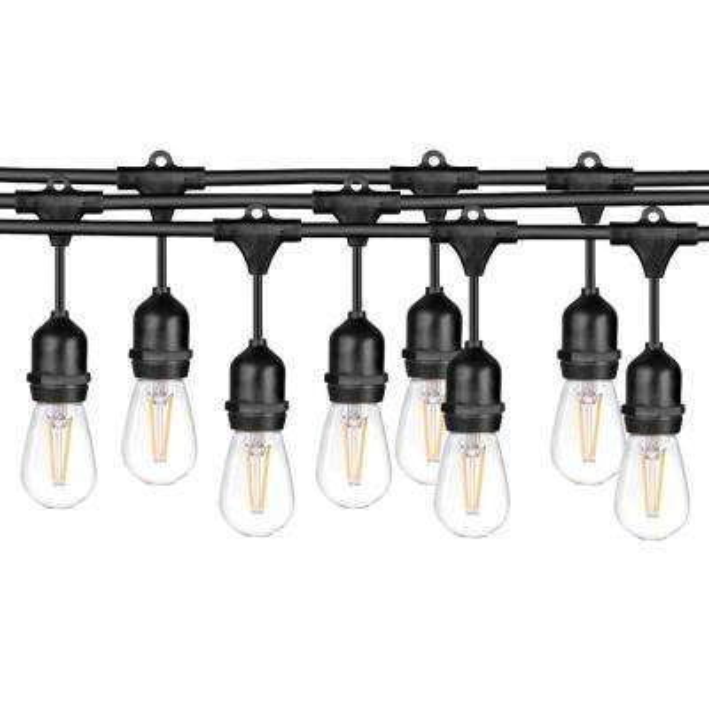 15-Light 48 ft. String Light