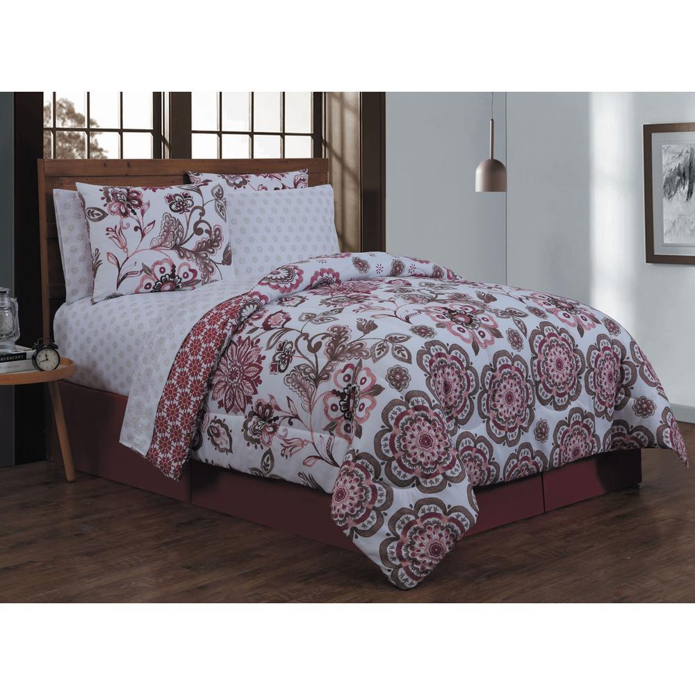 Cobie 8-Piece BIAB Queen Spice Comforter