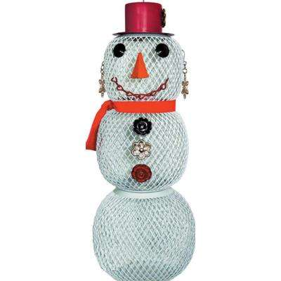 Snow Woman Bird Feeder