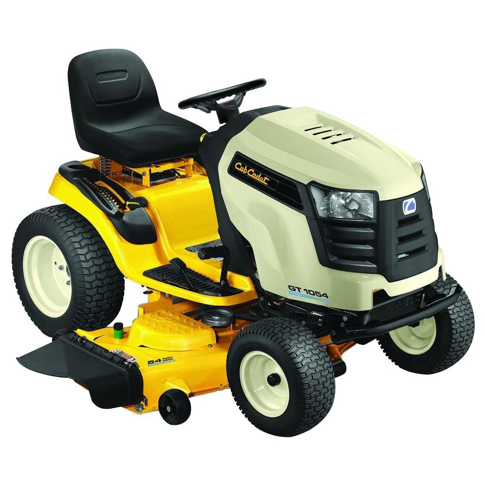 Cub Cadet GT1054 54 in. 27 HP V-Twin Hydrostatic Drive Front-Engine Garden Tractor-DISCONTINUED