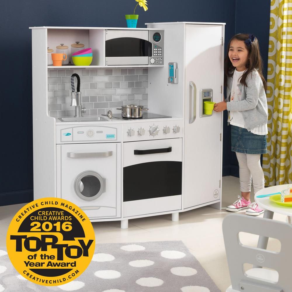 KidKraft White Large Play Kitchen