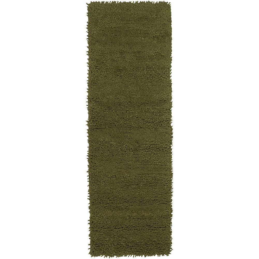Artistic Weavers Cambridge Green 4 ft. x 10 ft. Rug Runner