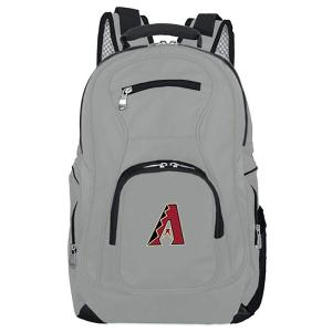MLB Arizona Diamondbacks 19 in. Gray Laptop Backpack