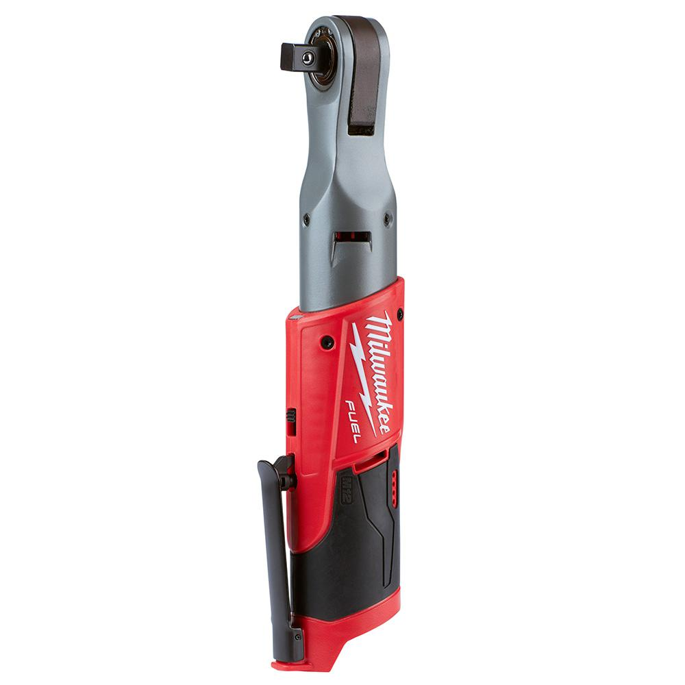 M12 Fuel 12 Volt Lithium Ion Brushless Cordless 1 2 In Ratchet Tool Only