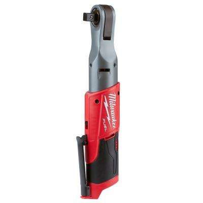 M12 FUEL 12-Volt Lithium-Ion Brushless Cordless 1/2 in. Ratchet (Tool-Only)
