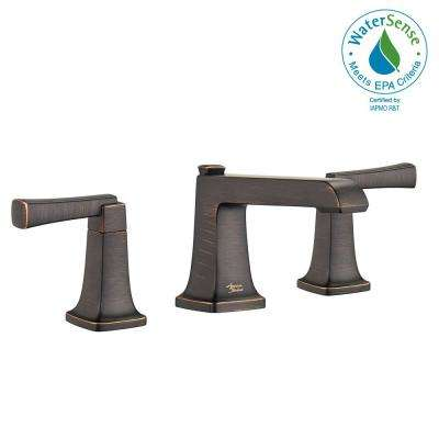Townsend 8 in. Widespread 2-Handle Bathroom Faucet in Legacy Bronze