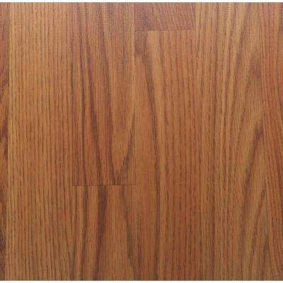 Oak 12 mm Thick x 7.96 in. Wide x 54.37 in. Length Laminate Flooring (15.04 sq. ft. / case)
