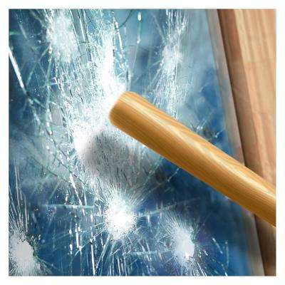48 in. x 14 ft. S4MB70 4 Mil Black 70 (Very Light) Security and Sun Control Window Film