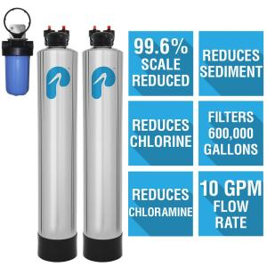 Pelican Water 10 GPM Whole House Water Filtration and NaturSoft Salt-Free Softener System by Pelican Water