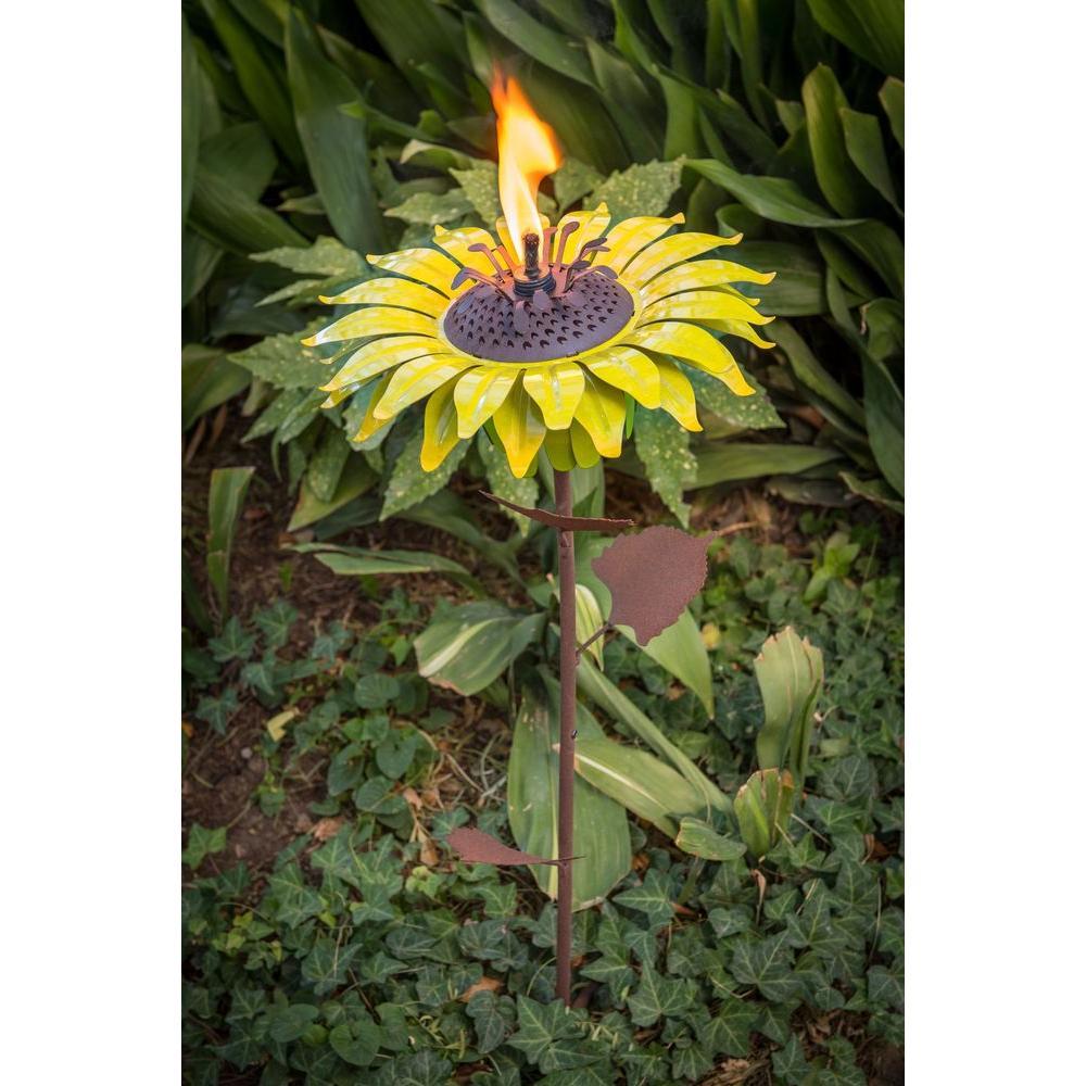 32 in. Sunflower Garden Torch