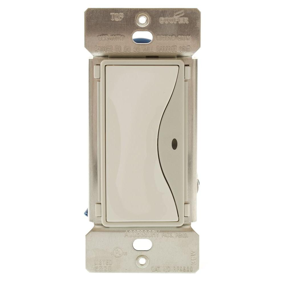 Aspire 15 Amp Non-RF 3-Way LED Accessory Rocker Switch - White