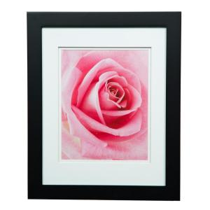 Pinnacle Gallery 8 inch x 10 inch Black Double Mat Picture Frame by Pinnacle