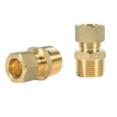 1/2 in. x 3/4 in. Compression Fitting