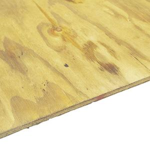 Pressure Treated Plywood Rated Sheathing Common 23 32 In